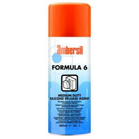 Silikonowy środek rozdzielający - Formula 6  400 ml