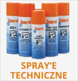 Spray'e techniczne